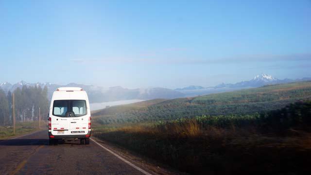 Bus transportation to  Ollantaytambo