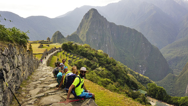 2 day inca trail to machu picchu - in Machu Picchu