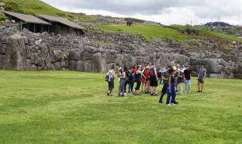 city tour at sacsayhuaman
