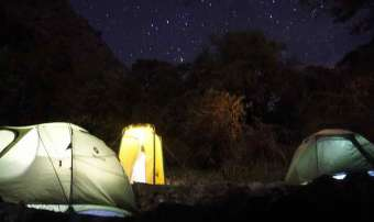 camping on salkantay trek