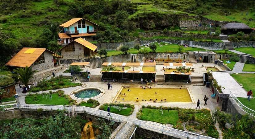 Lares thermal baths and water of 45 degrees Celsius