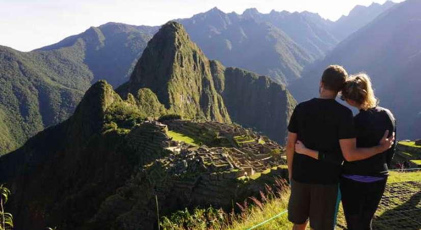 machu picchu view after inca trail