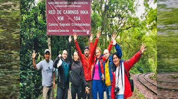 KM 104 - Start on Inca Trail 2 Day - to Machu Picchu with Kenko Adventures