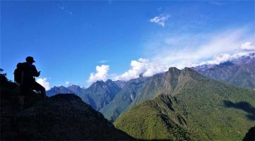 the best picture from Lares Trek to Machu Picchu