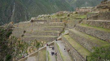 ollantaytambo inca site Machu Picchu 2 Day Hike + Sacred Valley + Sun Gate