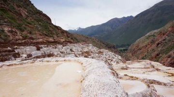 salt mines at the Sacred Valley tour